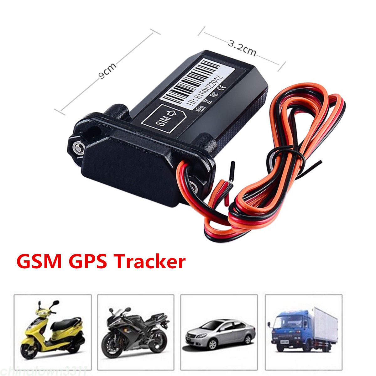 GSM GPS Tracker Car Motorcycle Vehicle Locator Global Real Time Tracking Device | eBay