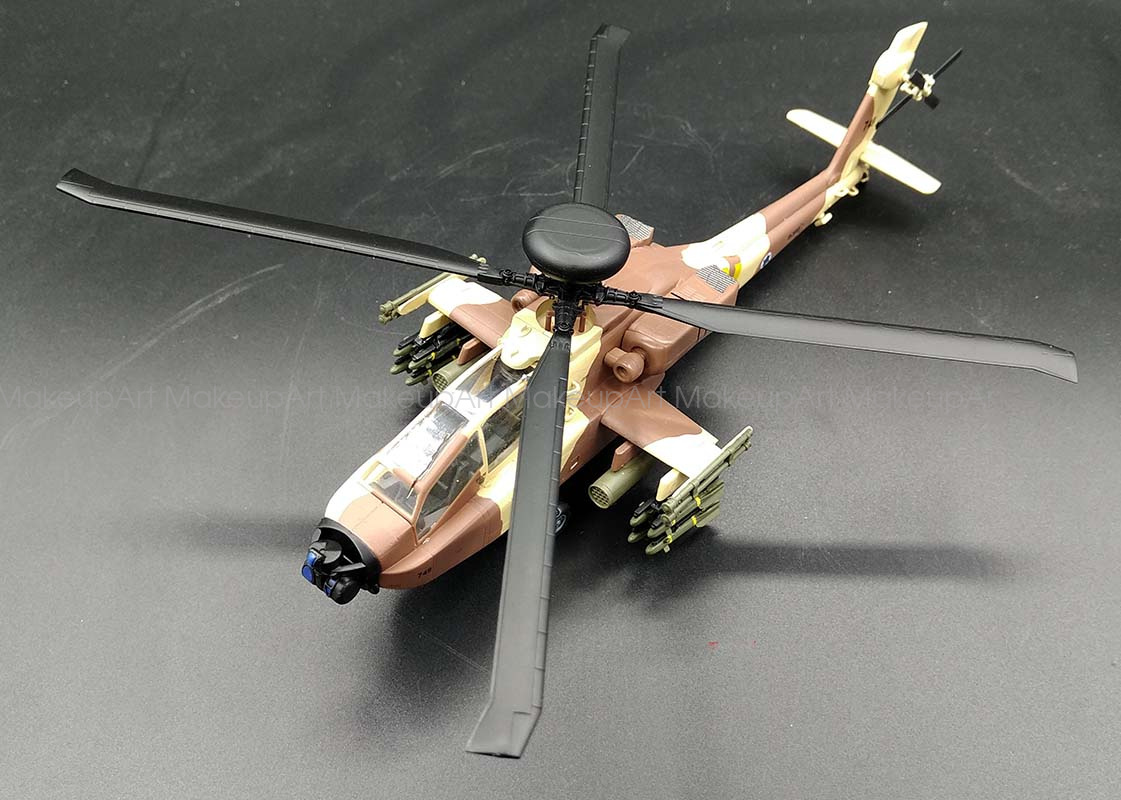 Easy model AH-64 Apache longbow Israel attack helicopter 1 ...