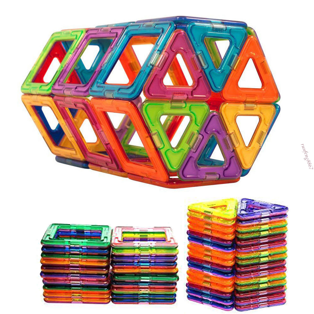 Magnetic Toys For Toddlers : Pcs all magnetic building blocks construction children