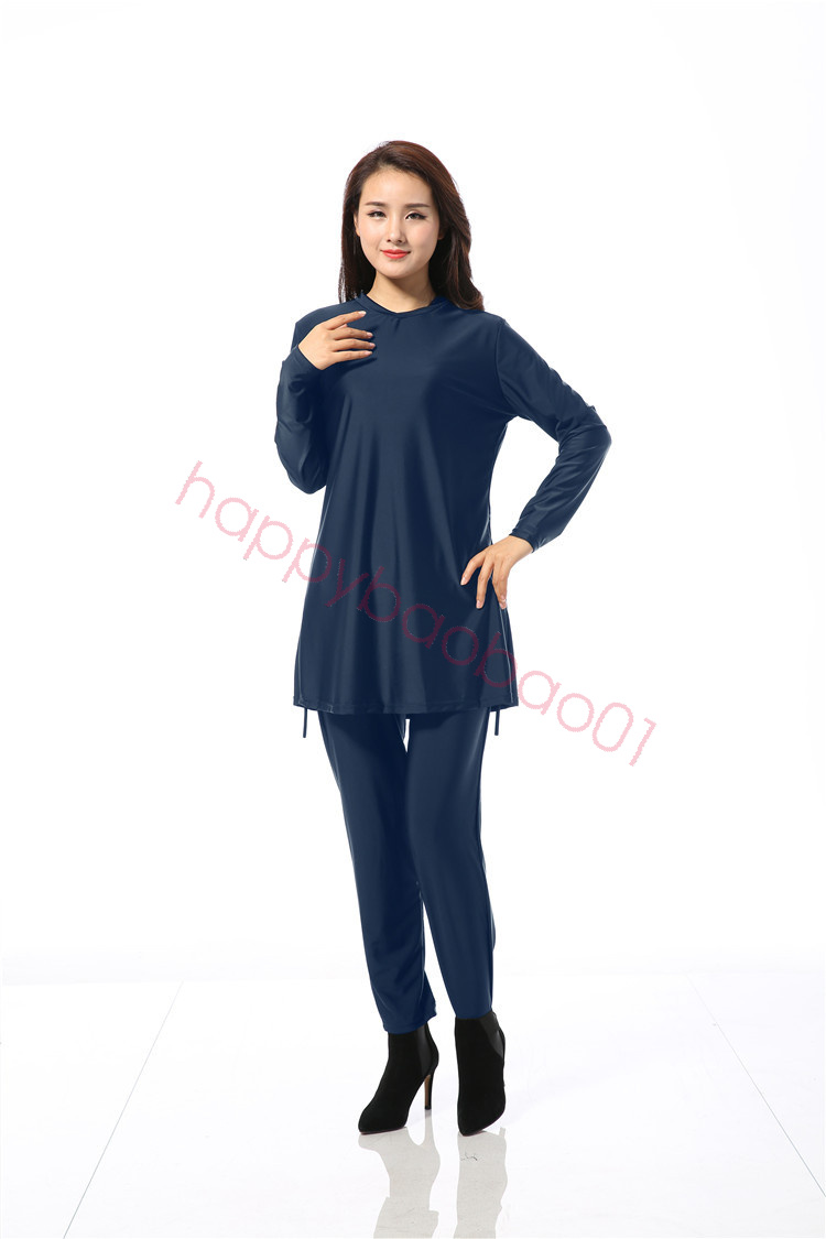 Plus Size Muslim Swimwear Modesty Islamic Swimsuit ...