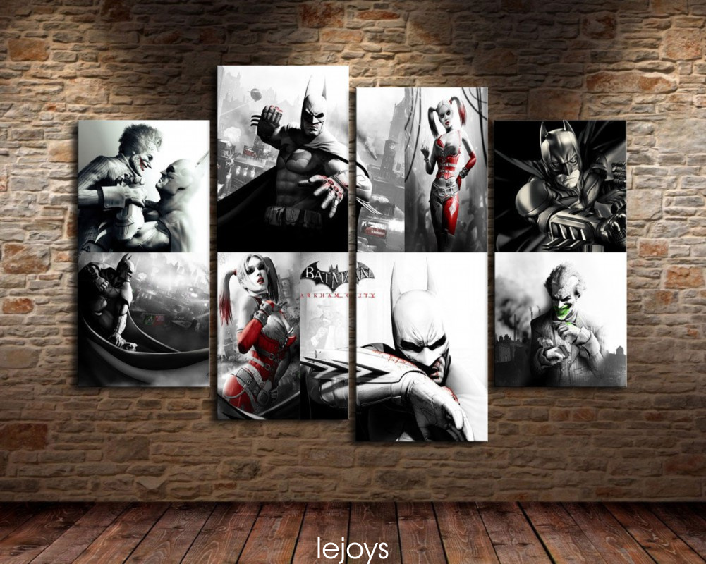 Modern Home Decor Canvas Painting Hd Print Picture Harley