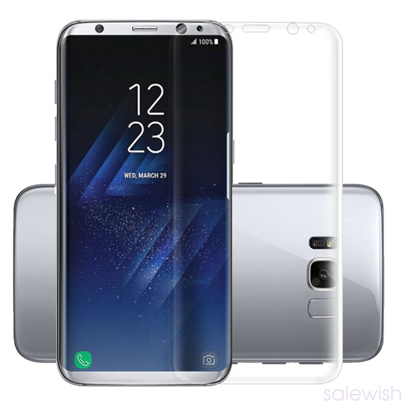 for samsung galaxy s7 s8 edge plus full curved pet clear. Black Bedroom Furniture Sets. Home Design Ideas