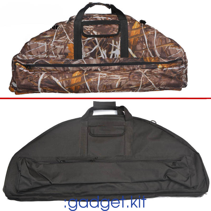 Bow And Arrow Bag : Compound bow bag case lightweight hunting archery crossbow