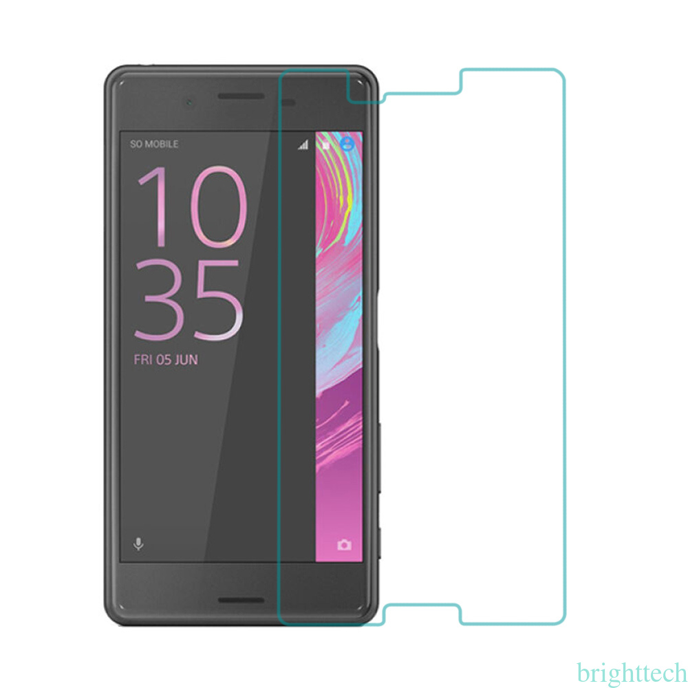 for sony xperia xa premium real screen protector tempered glass protective film ebay. Black Bedroom Furniture Sets. Home Design Ideas