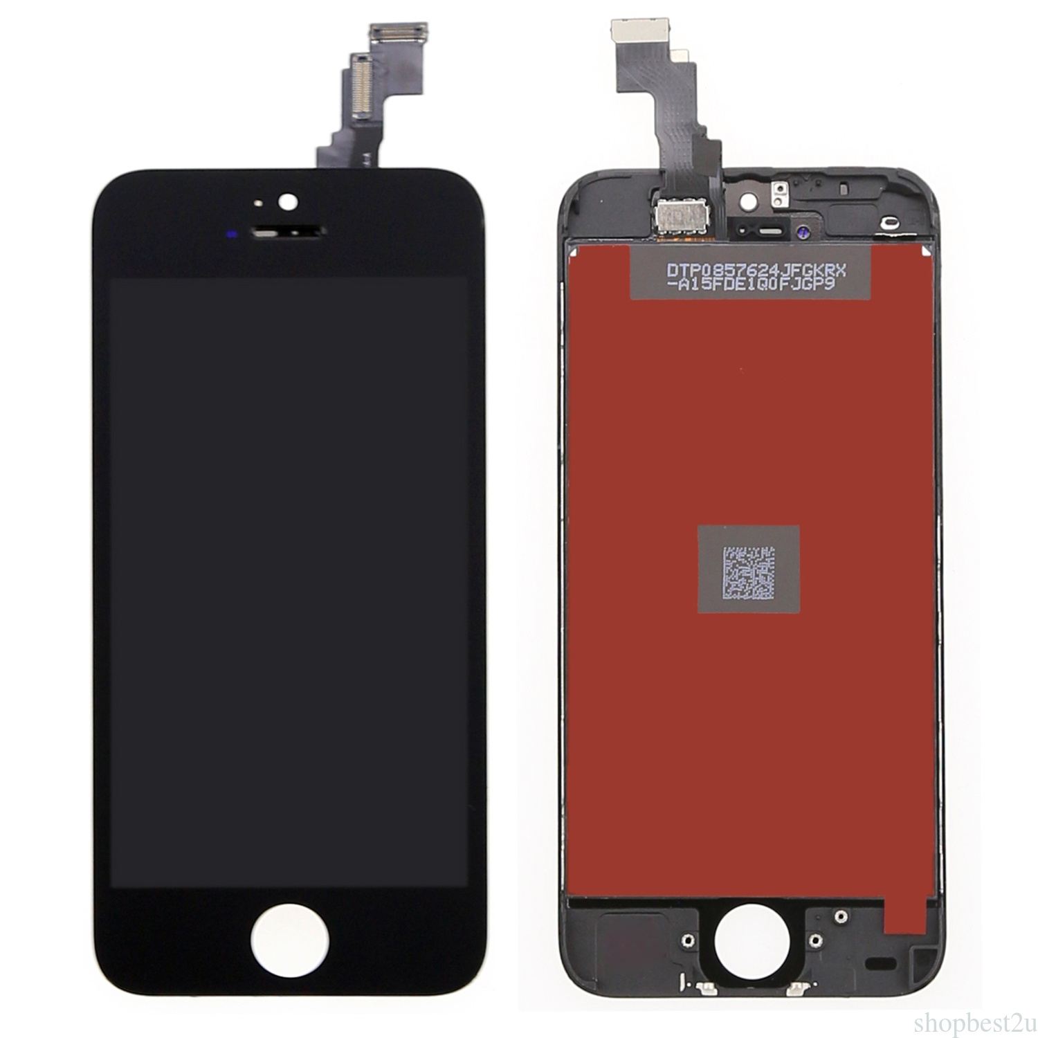 iphone 5c replacement screen black touch screen digitizer panel lcd display assembly 14694