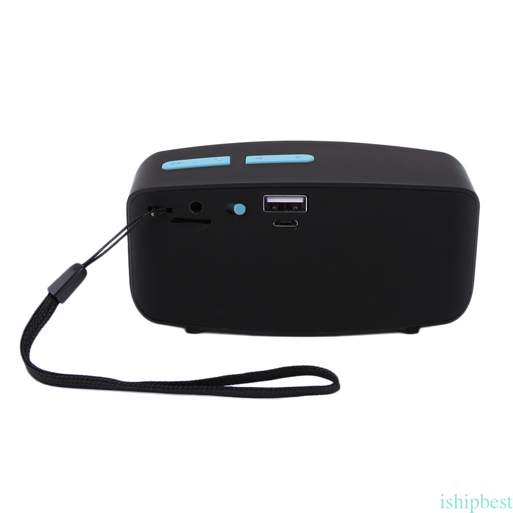 Mini Wireless Bluetooth Speaker Super Bass Stereo Music Sound Box For Phone PC