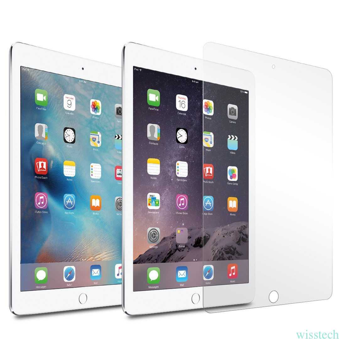 how to put tempered glass on ipad