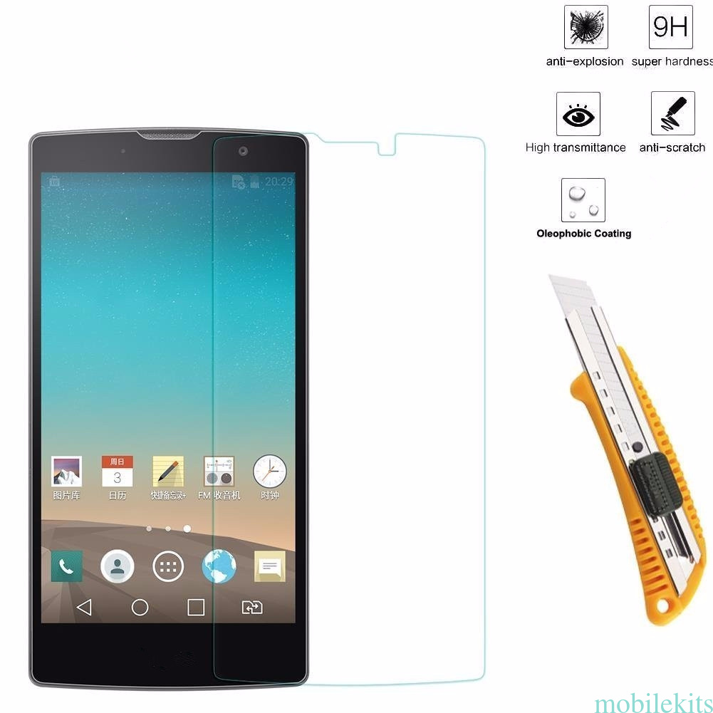 Tempered Glass Film Screen Protector for LG Spirit/Optimus ...