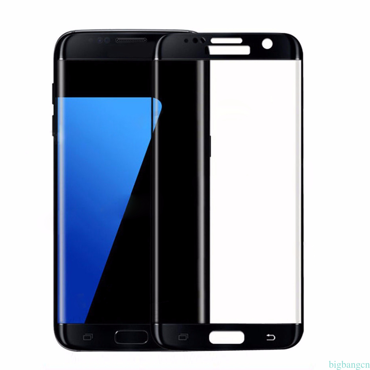 for samsung galaxy s8 s7 edge temper glass full cover curved screen protector bg ebay. Black Bedroom Furniture Sets. Home Design Ideas