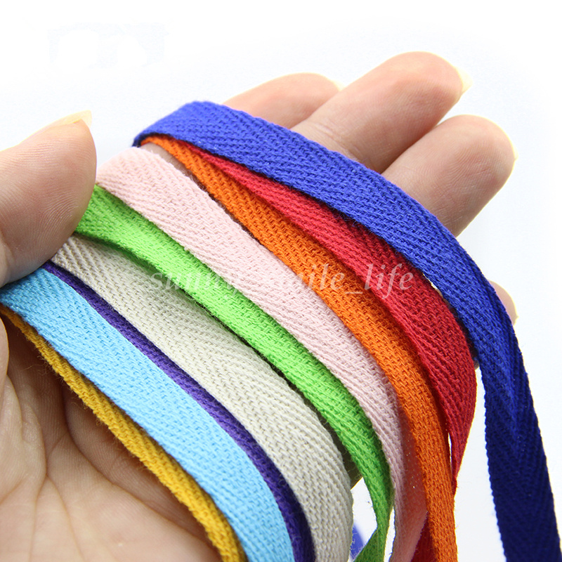 Cotton Binding Tape Bias Ribbon Strap DIY Sewing Craft
