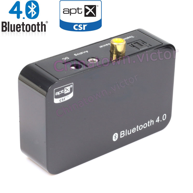 Bluetooth 4 0 music stereo audio receiver for ipod iphone for Bluetooth projector for iphone 6