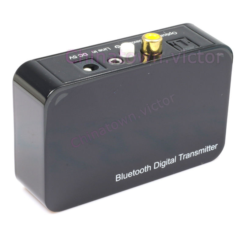 Bluetooth Transmitter Sender Adapter Optical Coaxial AUX Stereo Audio For TV DVD | eBay