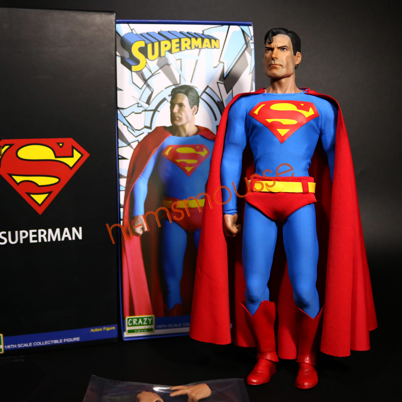 Best Superman Toys And Action Figures For Kids : Dc comic classic movie superman quot action figure