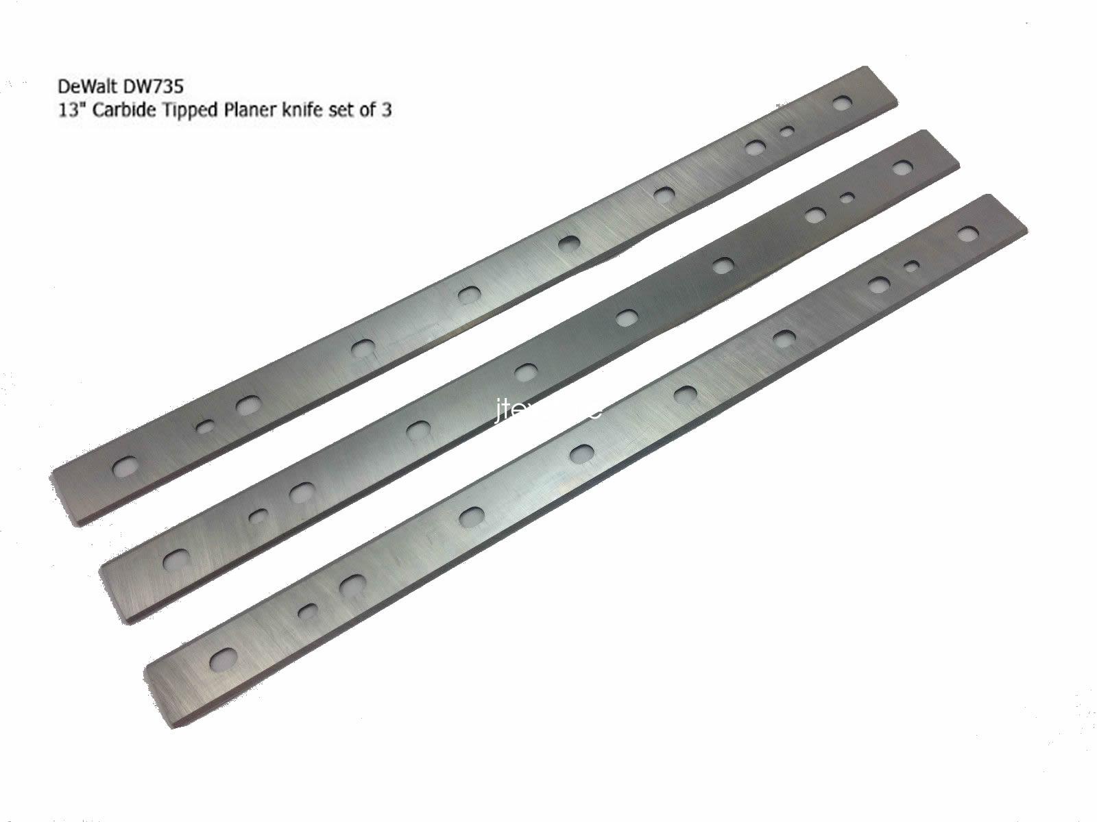 13 Quot Hss Planer Blades Knives For Dewalt Dw735 Amp Dw735x