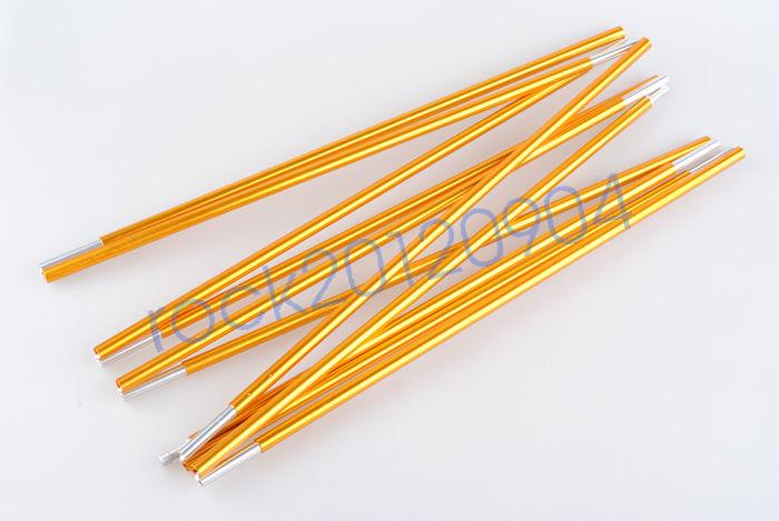 One piece Tent Pole 4//3.6M x 7.9//8.5MM Replacement Tent Aluminium Alloy Pole