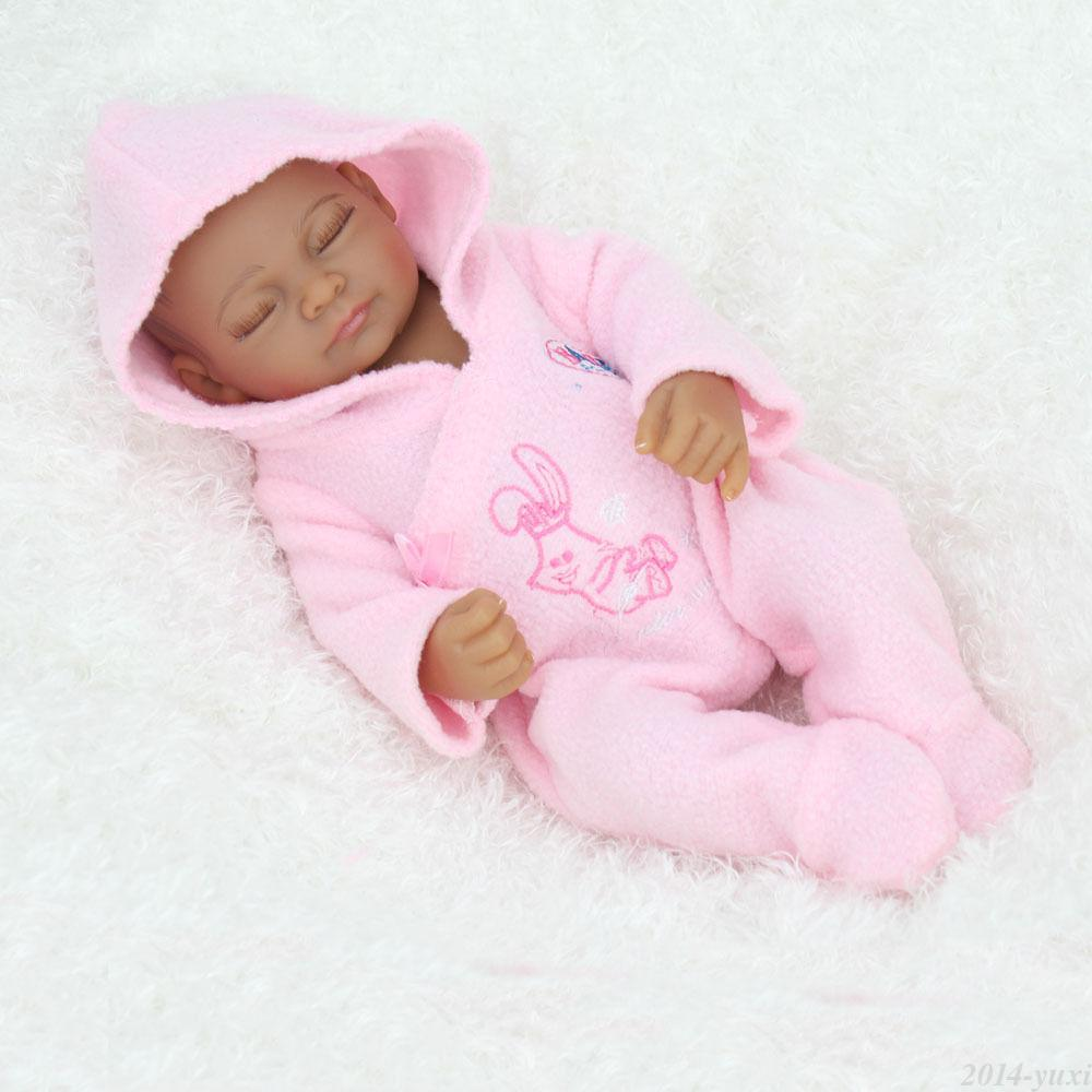 Lovely Cute doll 48cm Soft Silicone Reborn Dolls Babies ...