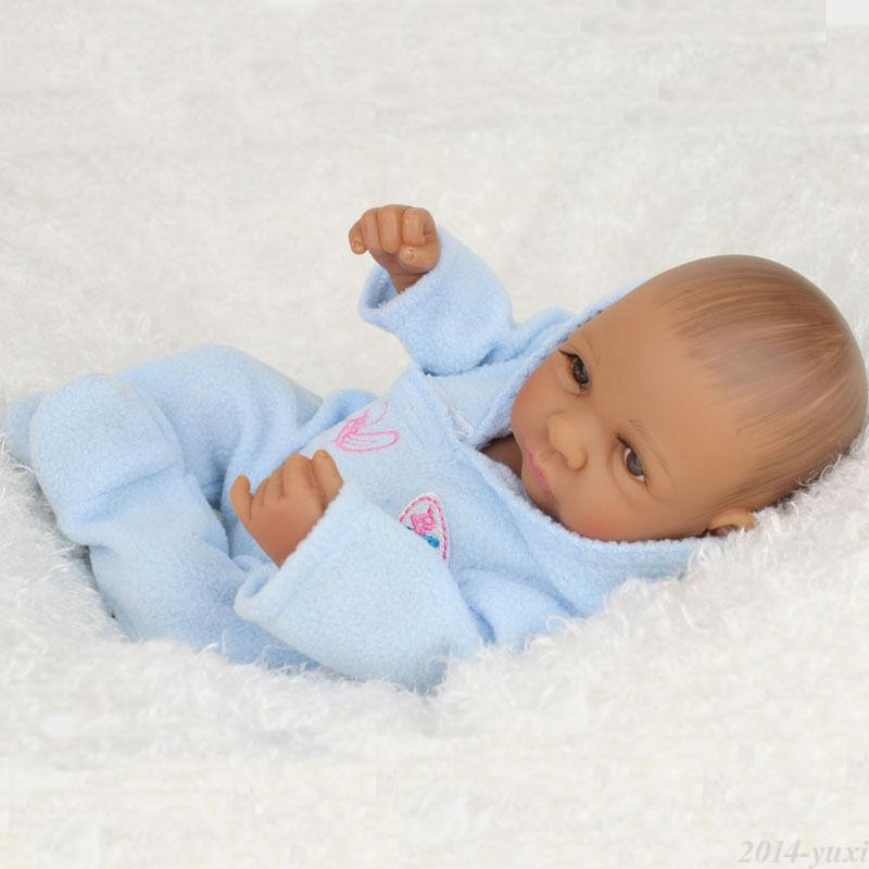 Lifelike Baby Doll Boy 10 Quot Full Vinyl Real Looking Baby