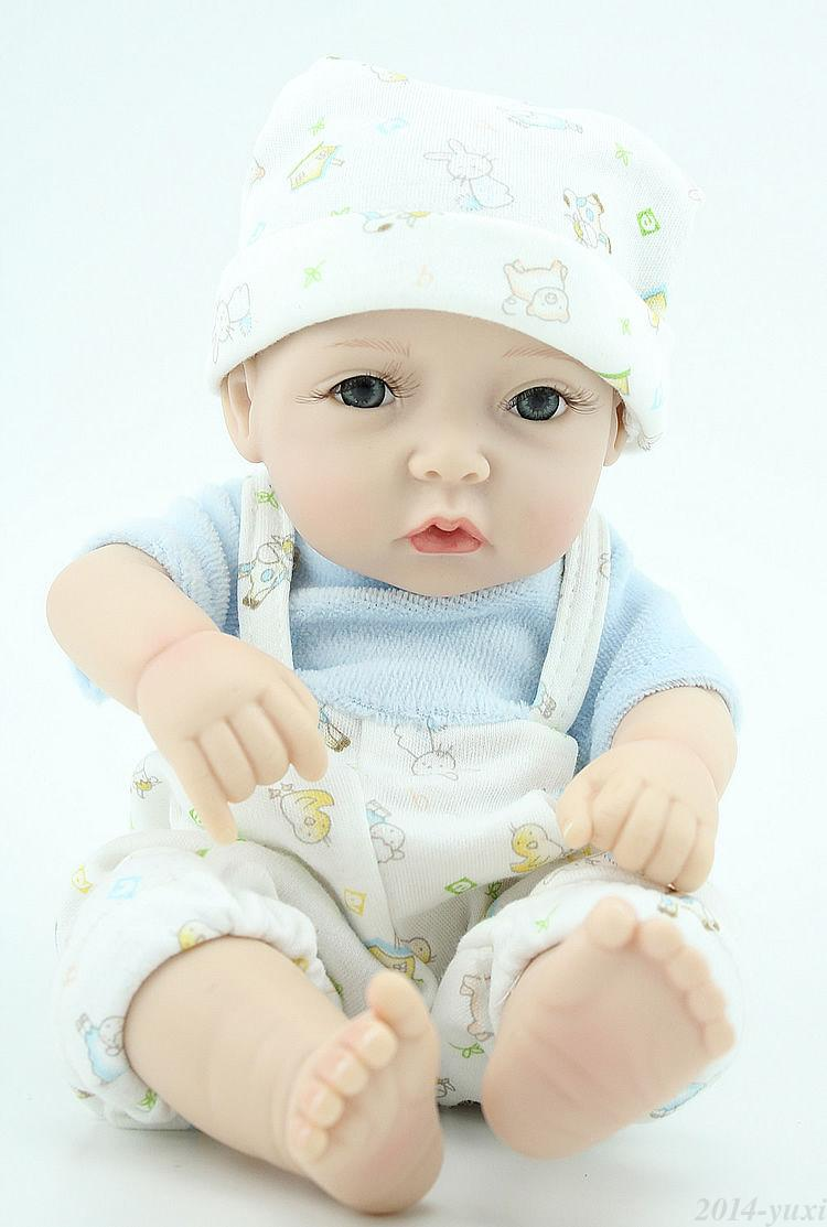 Alive Baby Doll For Sale 10 Quot Full Vinyl Reborn Baby Dolls That Look Real Ebay