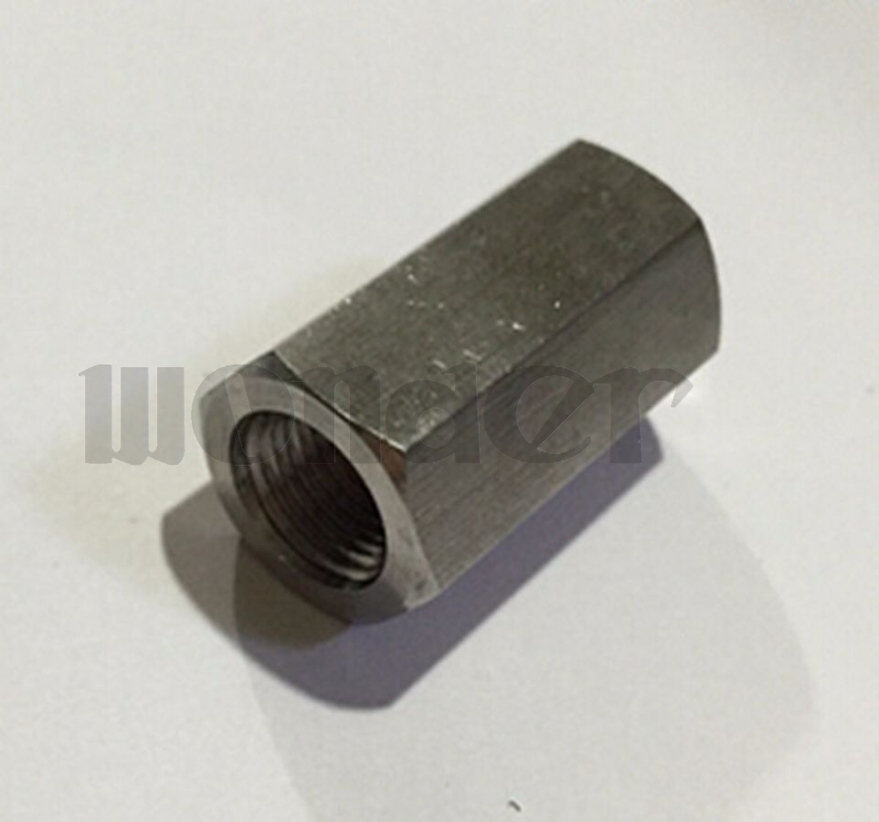 Various Female Full Port 304 Stainless Steel Hex Nut Rod Adapter Fitting