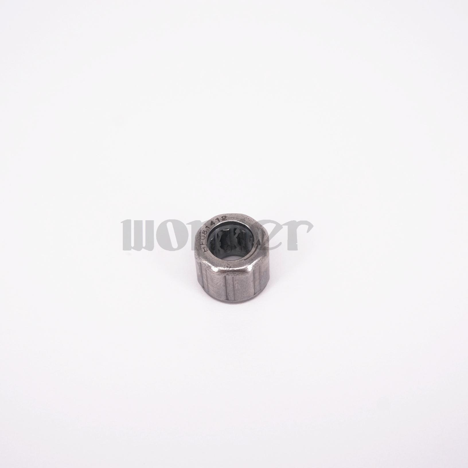10pcs HF081412 8x14x12mm One Way Needle Roller Steel Bearing Knurling EasyMop