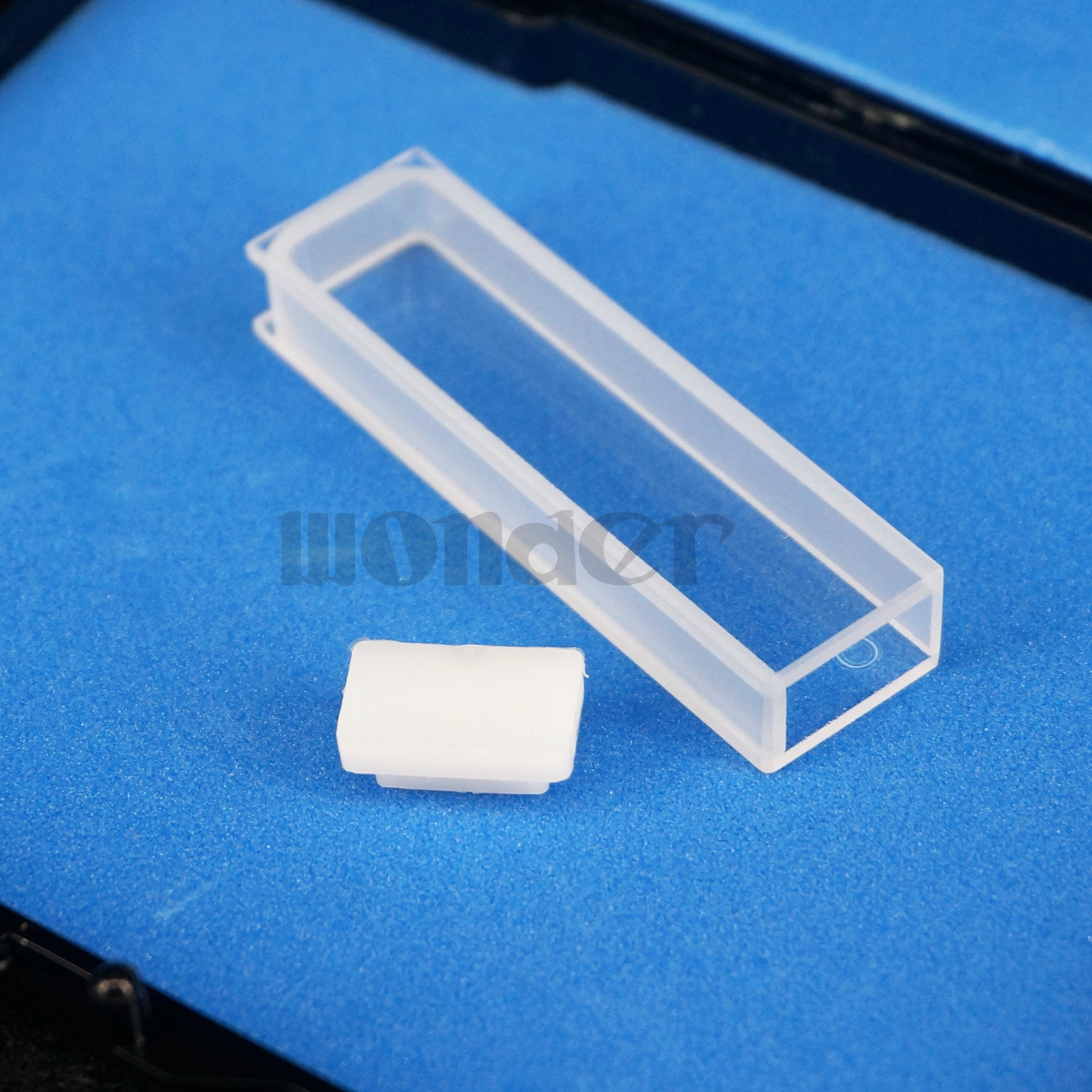 Details about 5mm Path Length JGS1 Quartz Cuvette Cell With Lid For Uv  Spectrophotometers
