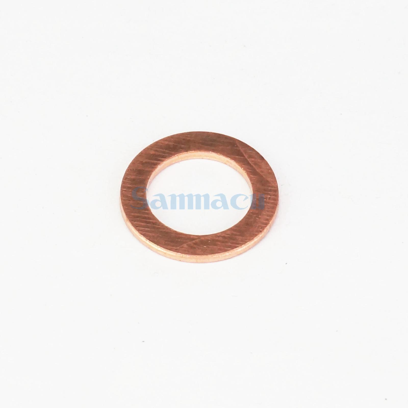 Dense Anneaux en Cuivre 6x10x1 mm 25 Pièce