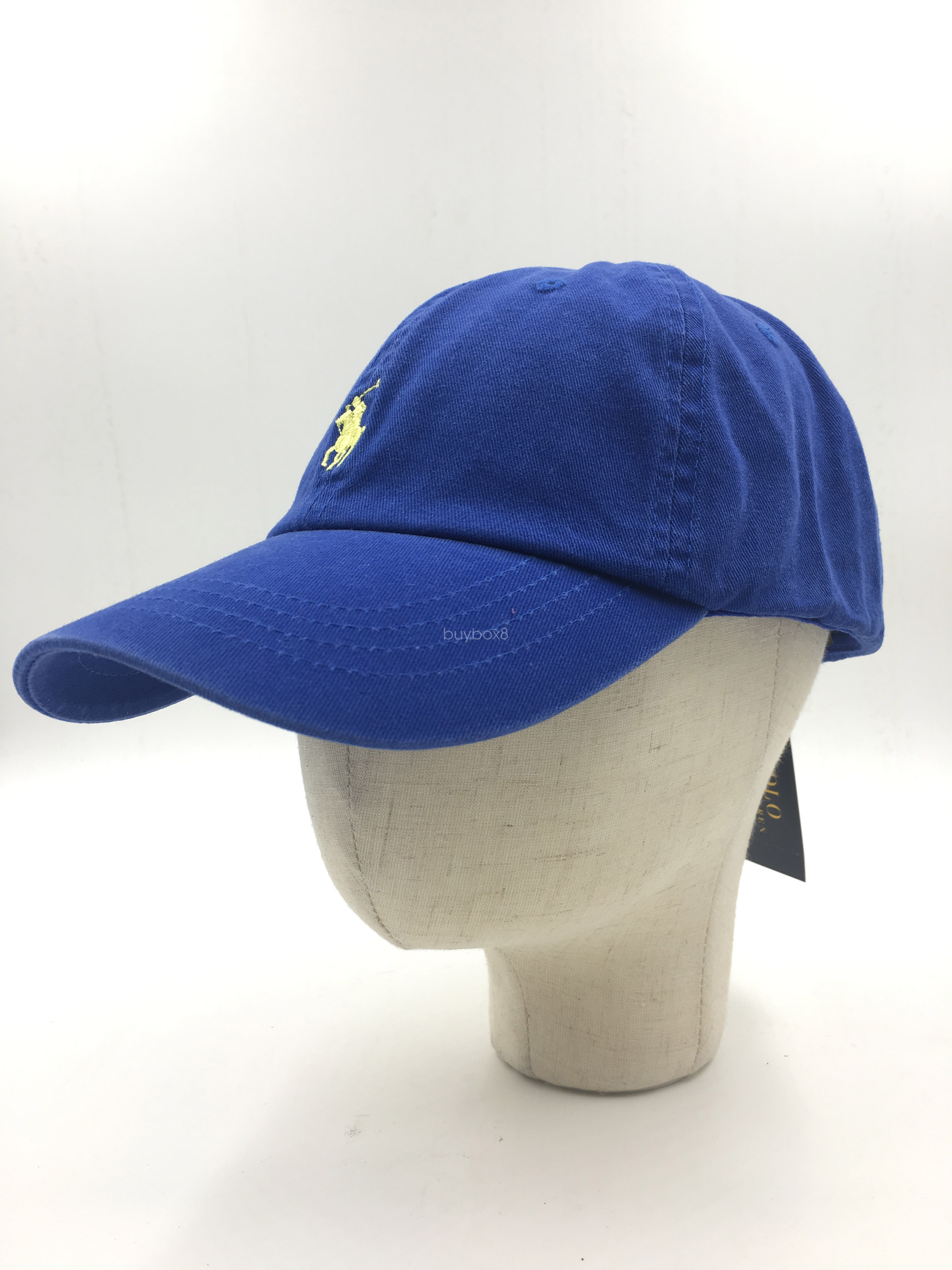 809fb8acb50 Details about Unisex Classic Small Pony RL Polo Cotton Chino Sport Golf Baseball  Cap Hat Blue