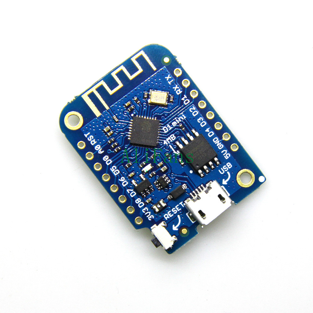 WEMOS D1 mini V3.0.0-WIFI Internet of Things ESP8266 4MB Based Development Board