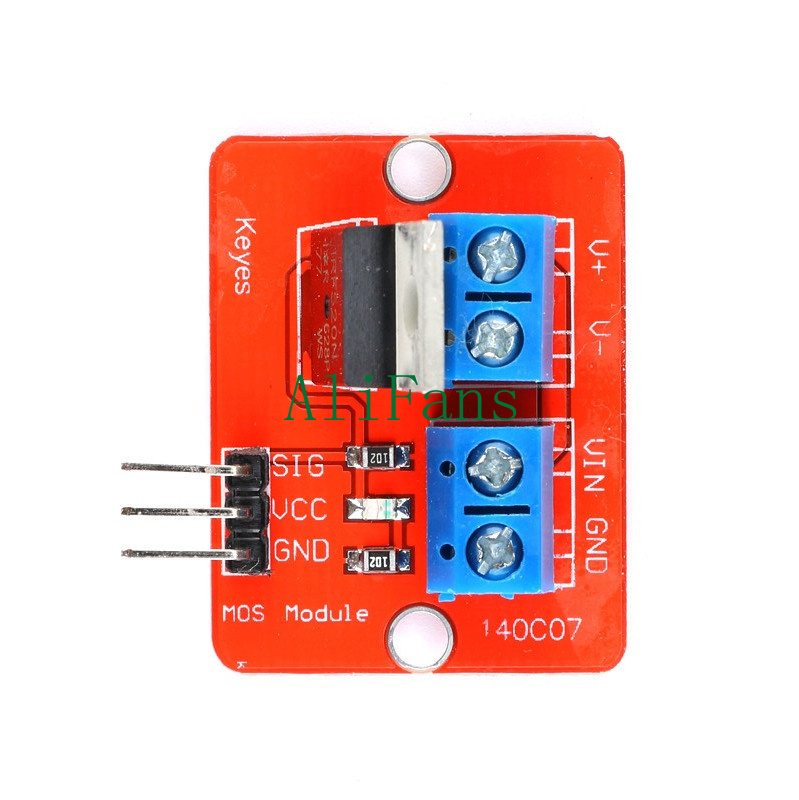 2PCS MOSFET Button IRF520 MOSFET Driver Module for Raspberry pi Arduino ARM