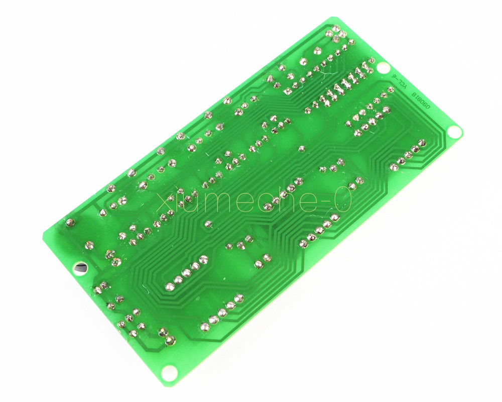 Details About C51 6 Bits Digital Electronic Clock Production Suite Diy Kits Hobby Site Contact Debouncing In Circuits