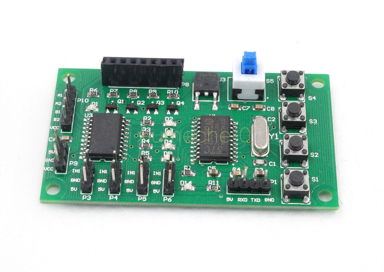 Stepper Motor Driver Control Board 2 Phase 4 Wire 5 Diagram Programmable