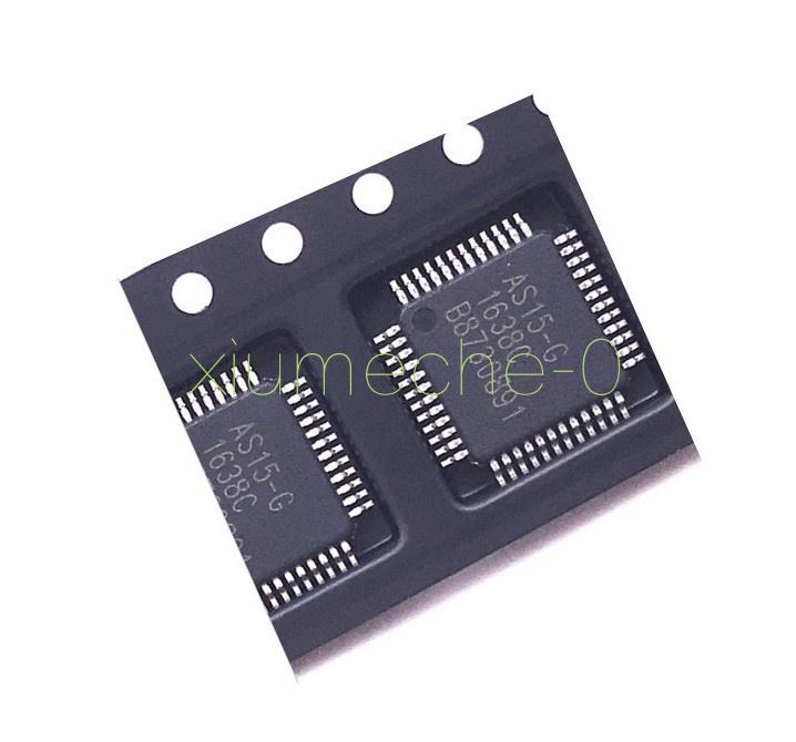 5 PCS AS15 AS15-G QFP48 E-CMOS ORIGINAL IC NEW