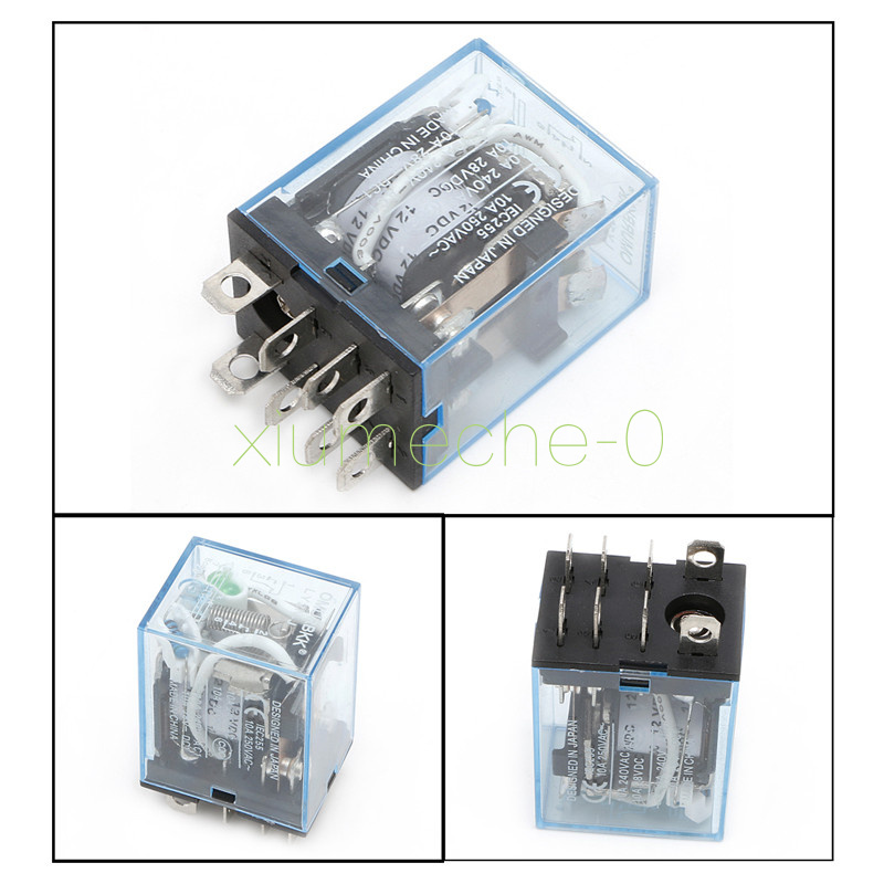 Details about 12V Small Relay Omron LY2NJ DC 10A 8PIN Coil DPDT W on 8 pin relay connections, 8 pin relay plug in, 8 pin cube relay diagram, 8 pin relay circuits, 8 pin time delay relays, 8 pin relay base, 8 pin round base, 8 pin relay socket diagram,