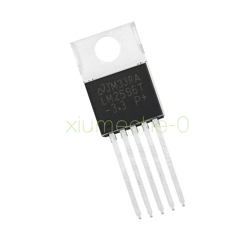 5PCS IC LM2596T-5.0 LM2596 NSC TO-220 Voltage Regulator 3A 5V NEW