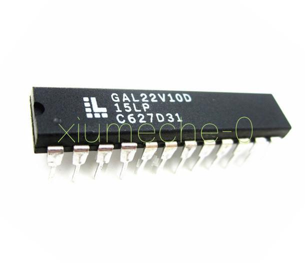 5pcs New GAL22V10D-15LP GAL22V10D LATTICE DIP-24