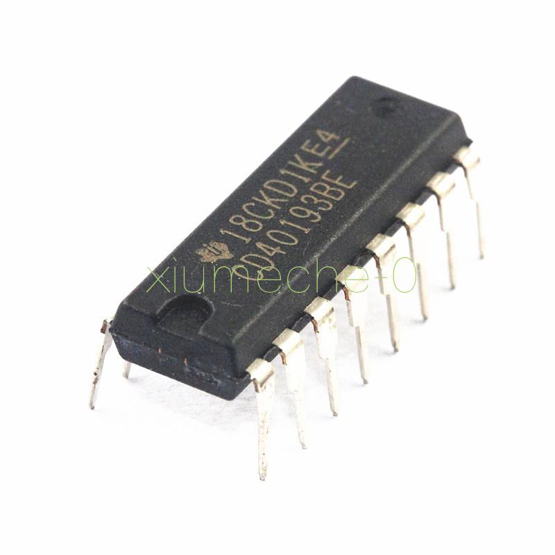 2Stks CD40193 CD40193BE 16-pin DIP DIP16 DIP-16 TI IC original