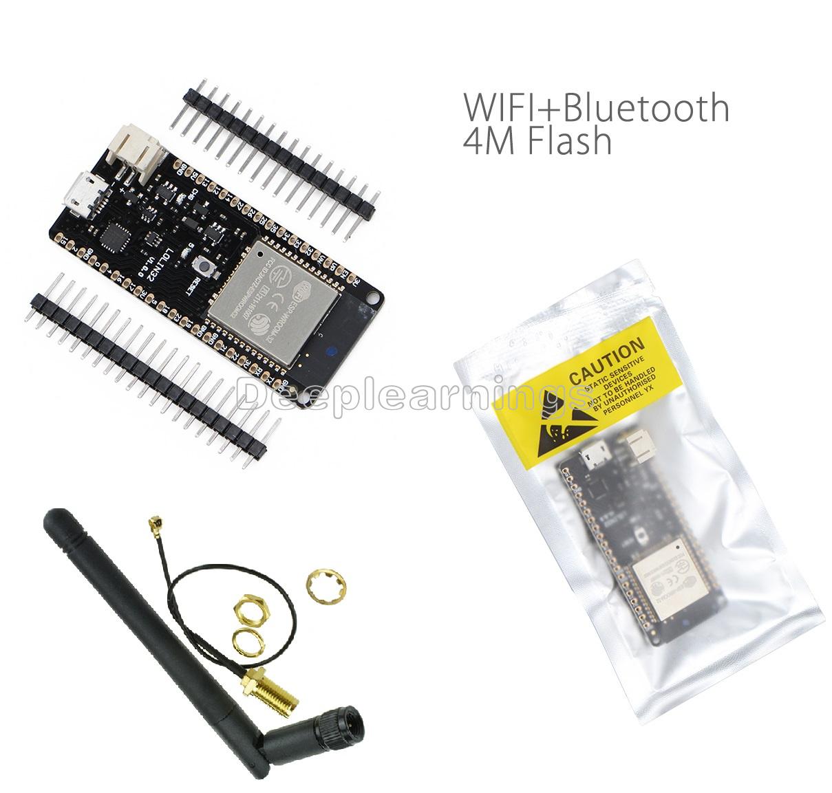 Details about 4 MB Flash WEMOS Lolin32 CP2104 WIFI & Bluetooth Card Based  ESP-32 ESP-WROOM-32