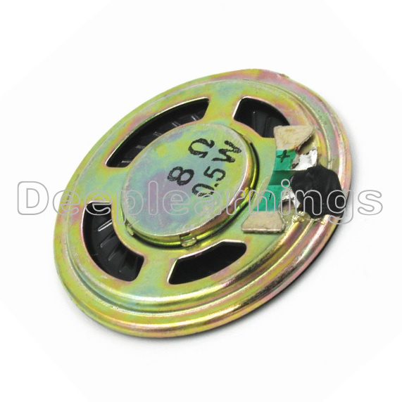 5Pcs 8Ω 0.5W Small Trumpet 36mm Diameter Loudspeaker Loud Speaker