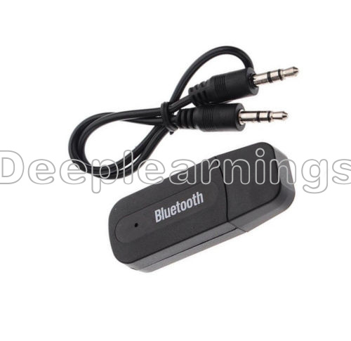 USB Bluetooth Receiver Adapter Wireless 3.5mm AUX Audio Stereo Music Home Car DP 652731319304