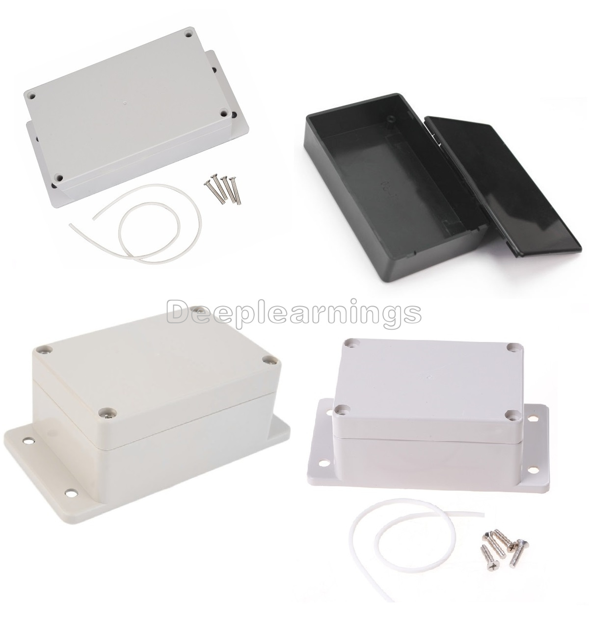 Waterproof Plastic Electronic Instrument Project Enclosure New Projects In Electronics Built Hole Hold Circuit Board Non Corrosive Anti Static Insulation Resistance Damp Proof Good For