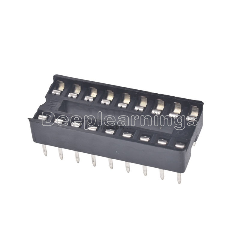 50PCS 8-Pin 8pins DIL DIP IC Socket PCB Mount Connector NEW GOOD QUALITY