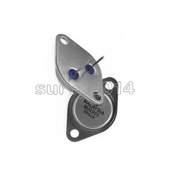 5pcs TO-3 MJ2955 ST PNP AF Amp Audio Power Transistor 15A//60V