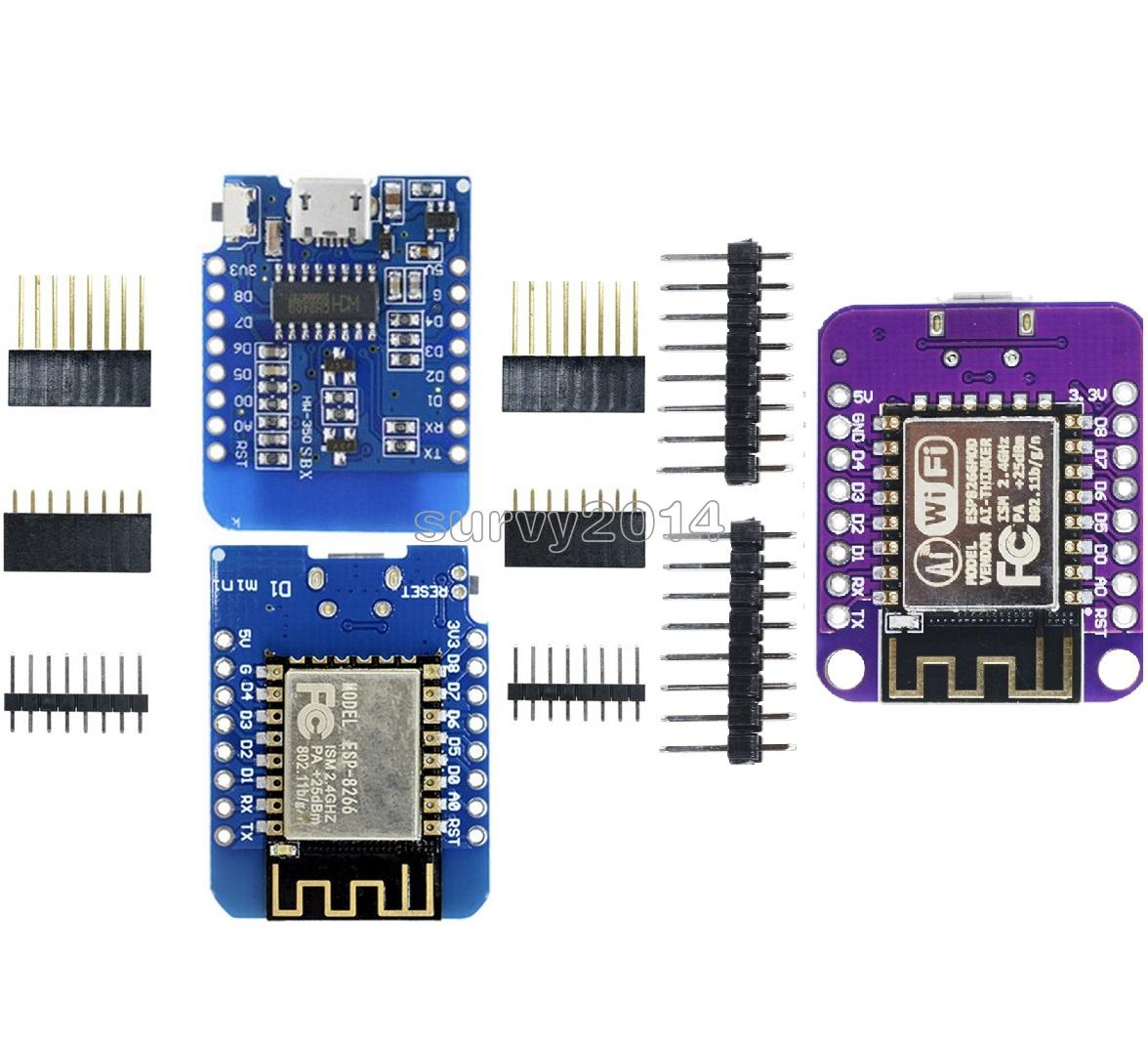 ESP-12F CP2014 NodeMCU Lua ESP8266 ESP-12 WeMos D1 Mini WIFI 4M Bytes