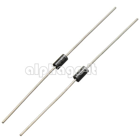 100PCS 1N4001 1N4002 1N4003 1N4004 1N4005 1N4006 1N4007 Silicon Rectifier  Diode
