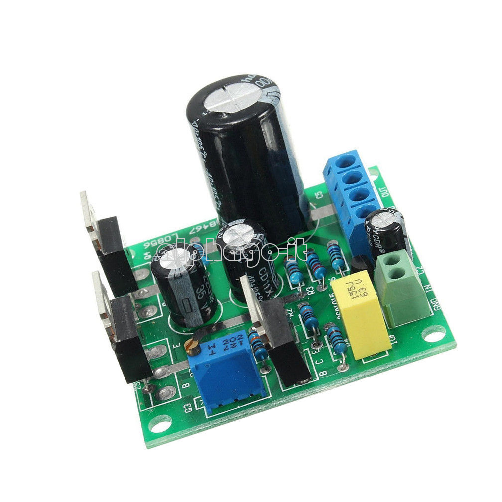 mini 1969 tip41c mono channel amplifier assemble board pure class a dc 12v 24v ebay. Black Bedroom Furniture Sets. Home Design Ideas