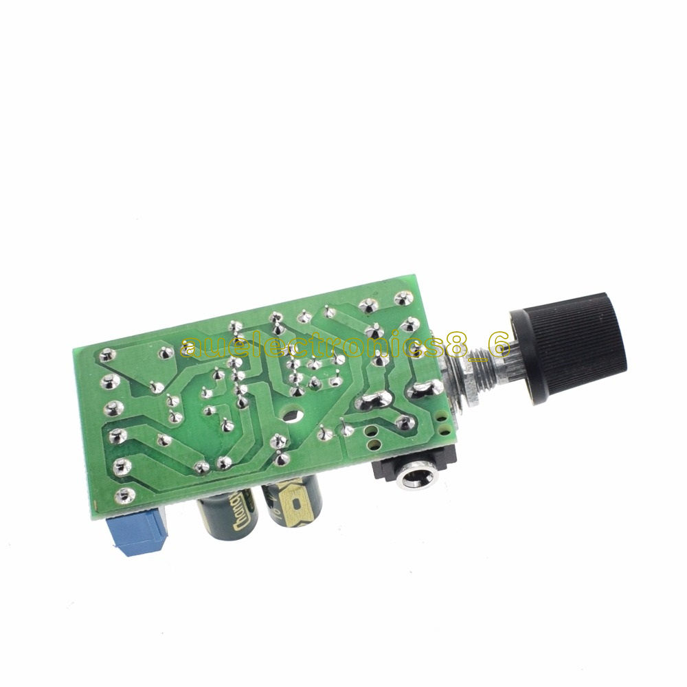 Tda2822m 20 Stereo Dual Channel Amp Aux Audio Amplifier Board Dc18 5w Input Interface 35mm 5adjust Form Volume Adjustment 6using Acts As Chip