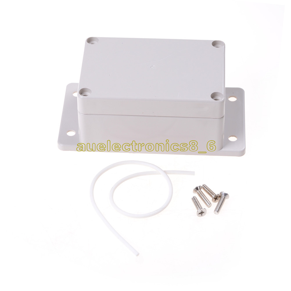 100 x 68 x 50mm Electronic Plastic DIY Junction Box Enclosure Case Gray