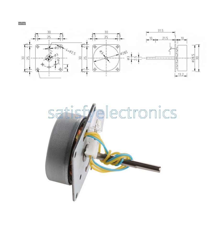 Ac 3 Phase Micro Brushless Generator Mini Wind Hand Motor Wiring Diagram This Product Is A Three Can Be Arbitrarily Connected The Two Lines Light Up Led Lamp Beadthis Suitable For