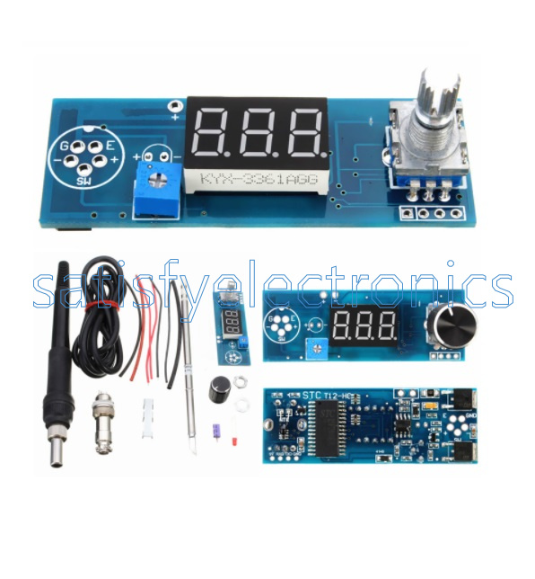 Diy Soldering Iron Station Temperature Controller Digital for HAKKO T12 Handle F