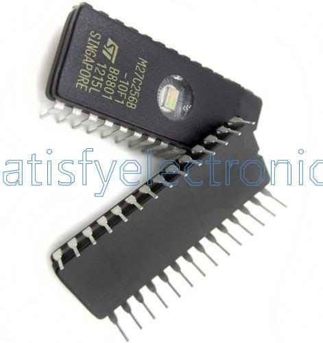 5PCS PCS IC M27C256 M27C256B-10F1 27C256 CDIP-28 ST NEW